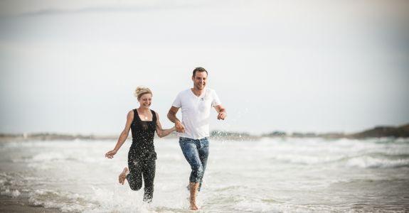 Séance d'engagement de Gaelle & Olivier en Bretagne