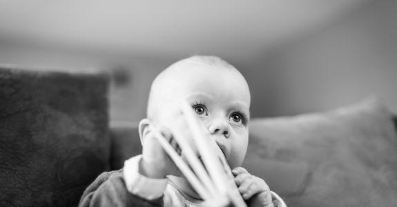 Séance bébé avec Marceau