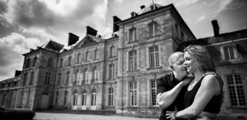 Séance engagement d'Océane & Grégory au Château de Bertangles et foire d'Amiens
