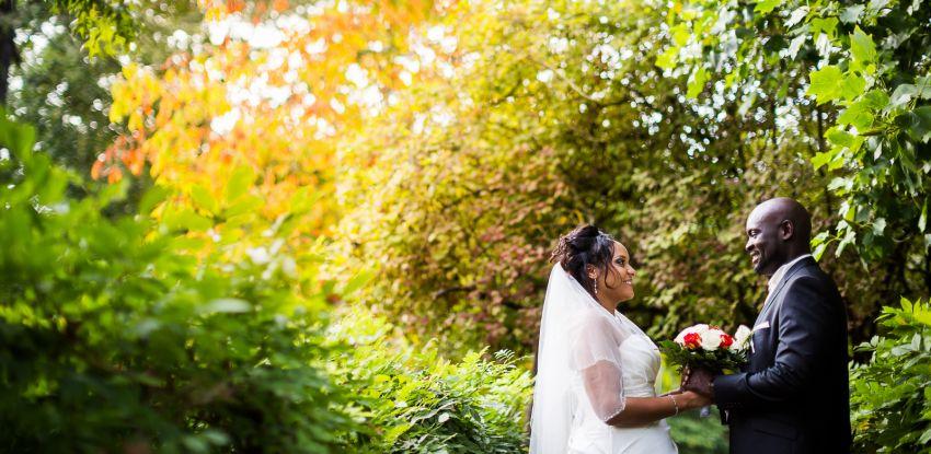 Mariage d'Emilie & Sénami au domaine de Courson