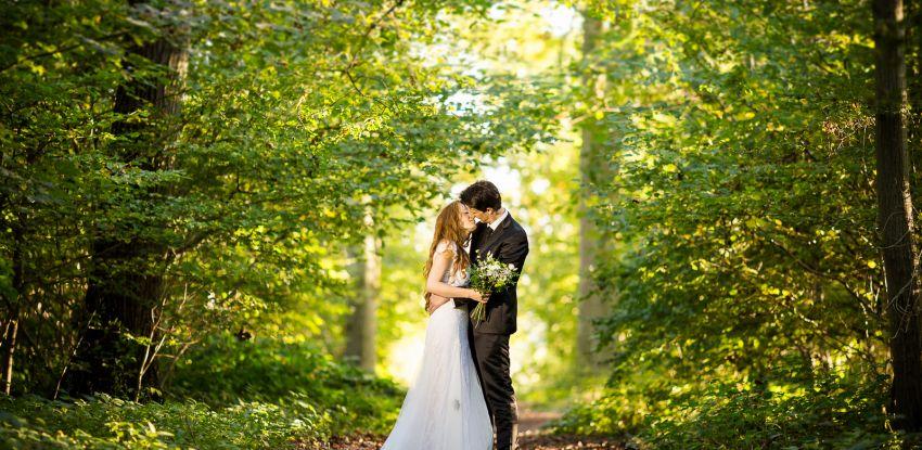 Séance après-mariage de Mathilde & Armand au bois de Fau Timon
