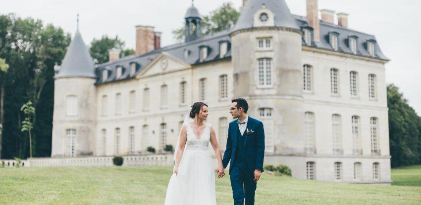 Mariage de Marina & Baptiste au Château de Verderonne